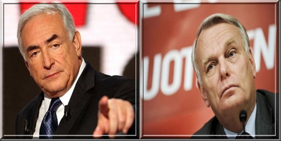 DSK et Ayrault