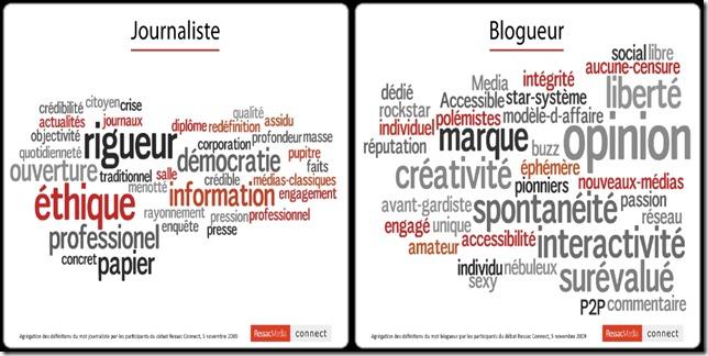journaliste blogeur