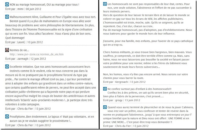 commentaires civitas mariage gay