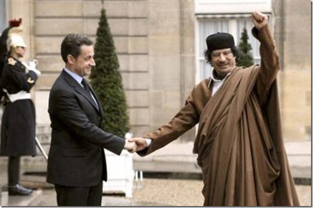 Sarkozy-Kadhafi