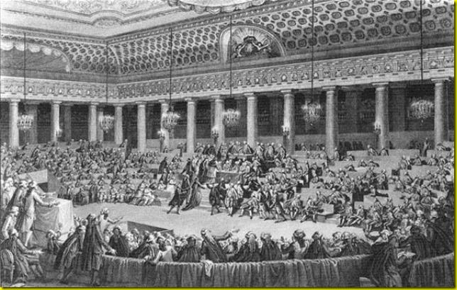 4aout 1789 prise de la bastille monet