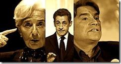 Sarkozy Lagarde Tapie