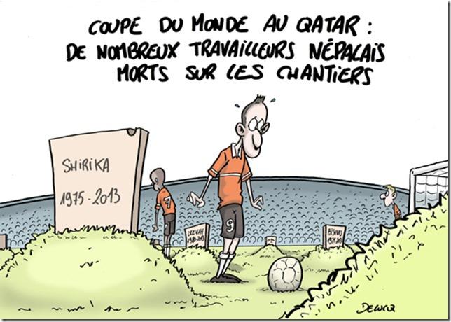 Coupe du monde le qatar l autre pays de l esclavagisme - Prochaine coupe du monde de foot 2022 ...