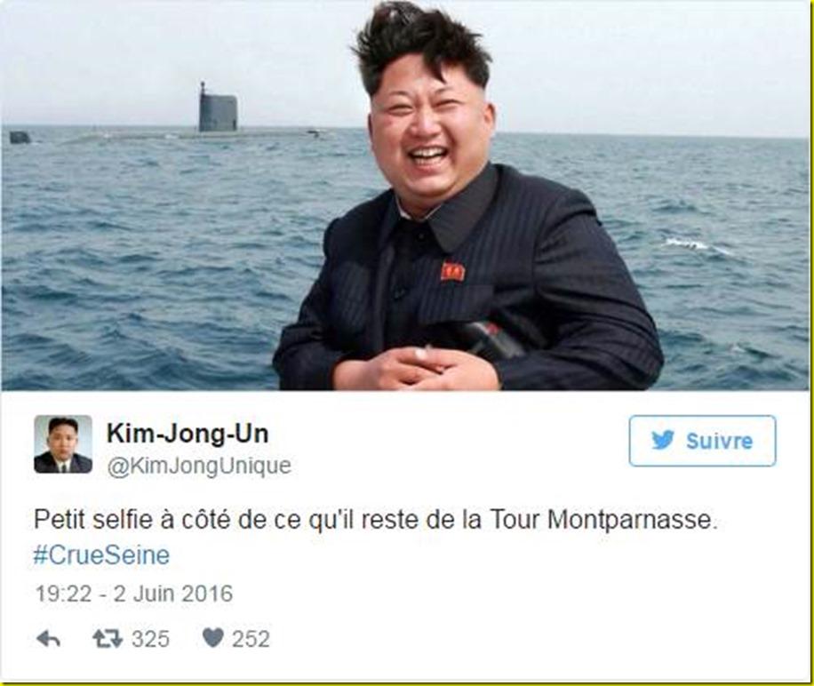 selfie parisienne crue seine 1