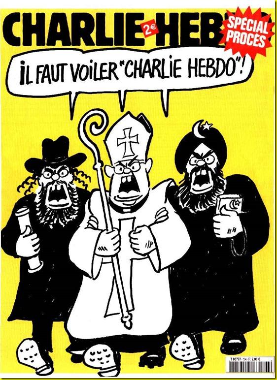 Intégristes religieux charlie hebdo